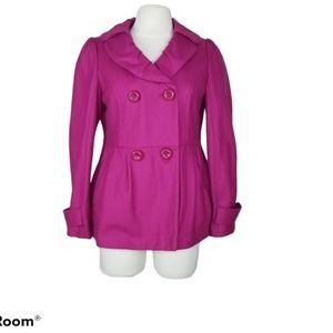 1 Madison Ruffle Collar Wool Jacket